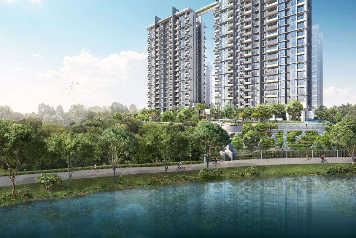 Riverbank Condo at Punggol River