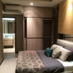 Riverbank Showflat Master Bedroom